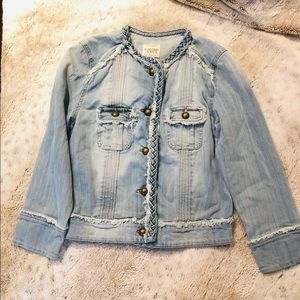 Mango Denim Jacket SZ XS